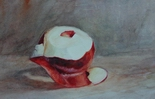 image of watercolor painting Apple by David Ladmore