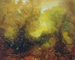 image of landscape oil painting Forest Light 15 by David Ladmore