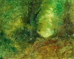 image of landscape oil painting Forest Light 31 by David Ladmore