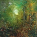 image of landscape oil painting Forest Light 34 by David Ladmore