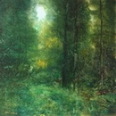 image of landscape oil painting Forest Light 37 by David Ladmore