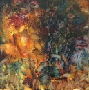 image of landscape oil painting Forest Light 4 by David Ladmore