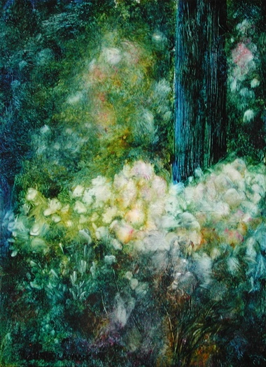 image of oil painting Beacon Hill Light by Laurie Ladmore