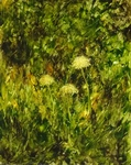 image of oil painting Dandelions #3 by Laurie Ladmore