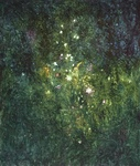 image of oil painting Night Garden #4 by Laurie Ladmore