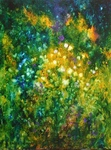 image of oil painting Night Garden #7 by Laurie Ladmore