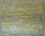 image of abstract oil painting Strata 3 by David Ladmore