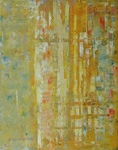 image of abstract oil painting Strata 2 by David Ladmore