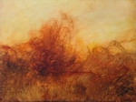 image of landscape oil painting Warm Earth 55 by David Ladmore