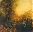 image of landscape oil painting Warm Earth 58 by David Ladmore