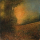 image of landscape oil painting Warm Earth 15 by David Ladmore