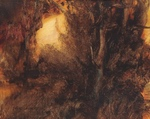 image of landscape oil painting Woodlands 39 by David Ladmore