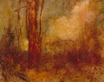 image of landscape oil painting Woodlands 72 by David Ladmore