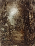 image of landscape oil painting Woodlands 92 by David Ladmore
