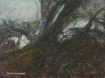 image of landscape oil painting Woodlands 18 by David Ladmore