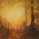 image of landscape oil painting Woodlands 9 by David Ladmore